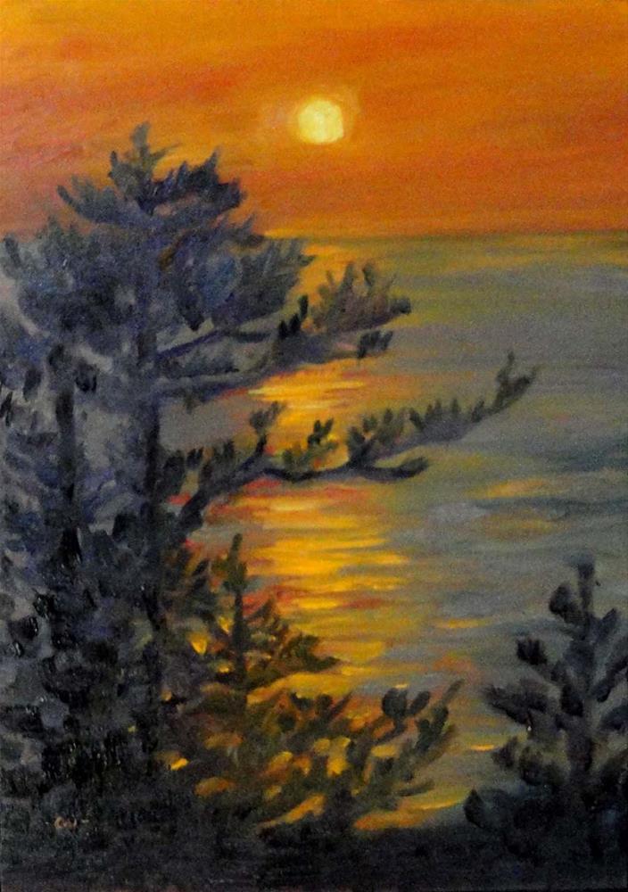 """A Night To Remember"" original fine art by Cietha Wilson"