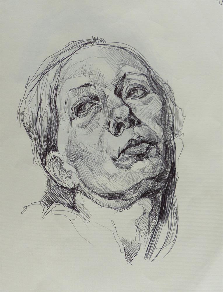 """sketchbook92"" original fine art by Katya Minkina"