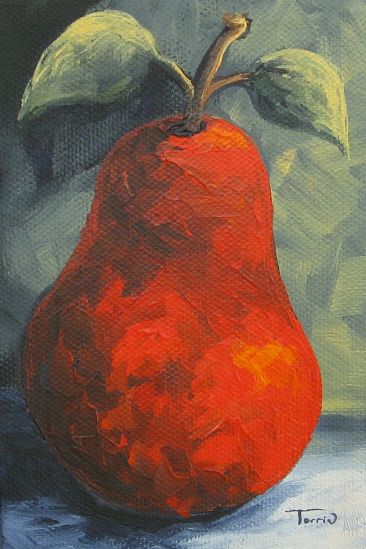 """The Pear Chronicles 015"" original fine art by Torrie Smiley"