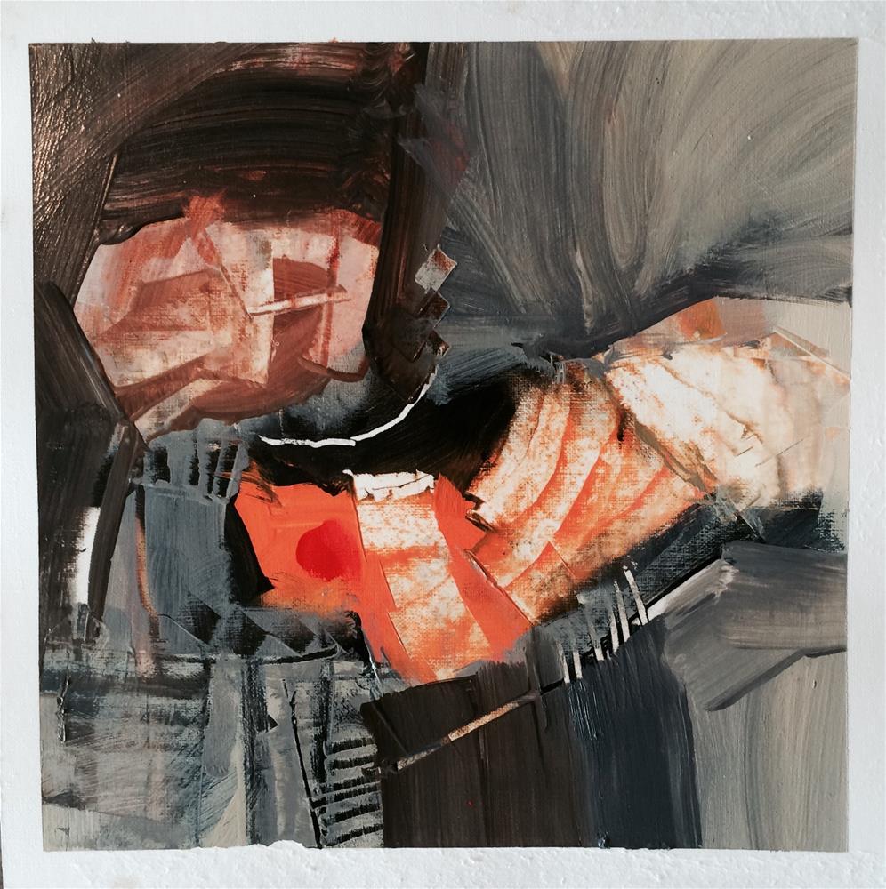 """Untitled"" original fine art by James Currin"