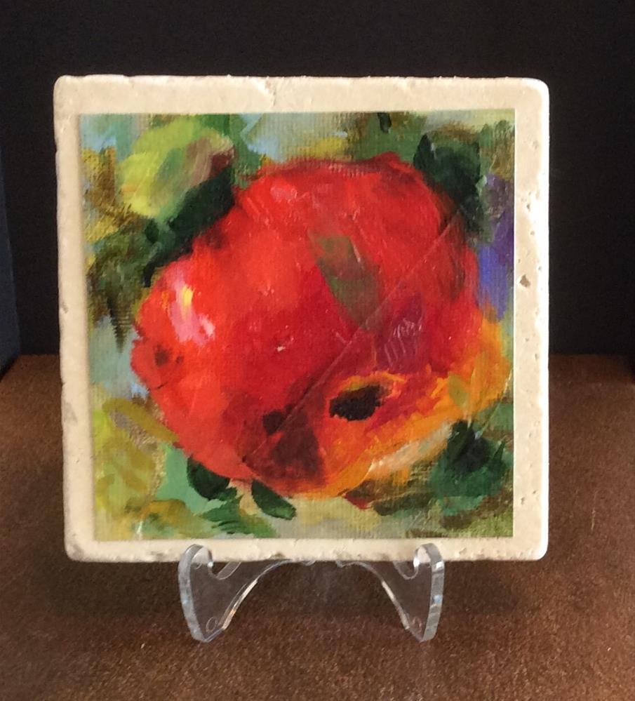 """""""Apple"""" original fine art by Susie Monzingo"""