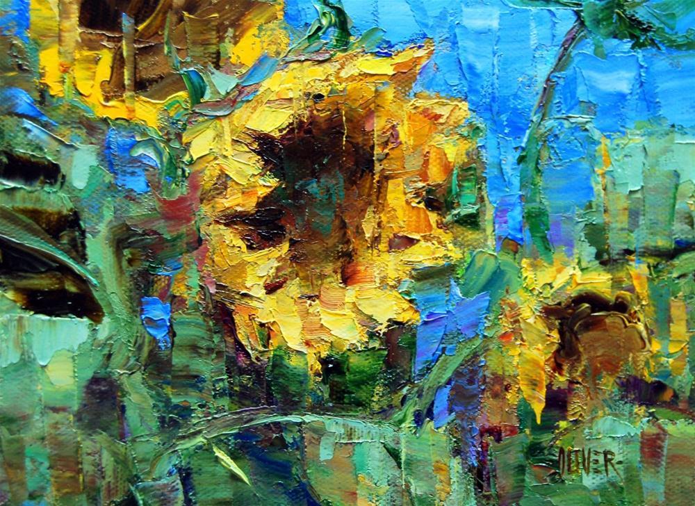 """Follow The Sun?"" original fine art by Julie Ford Oliver"
