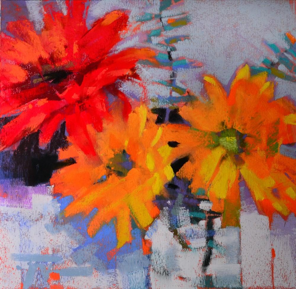 """Dappled Daisy"" original fine art by Jennifer Evenhus"