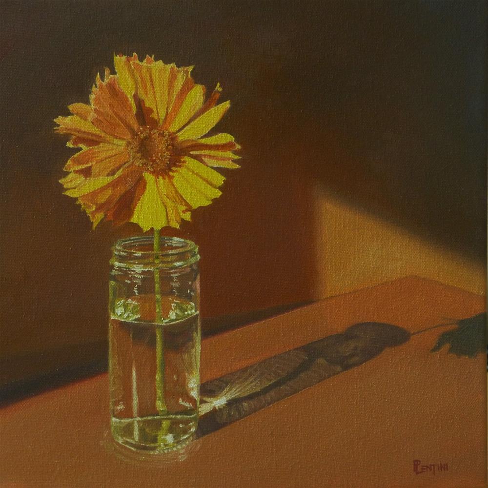 """""""Insouciant"""" original fine art by Peter Lentini"""