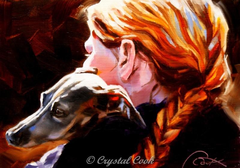 """Haven"" original fine art by Crystal Cook"
