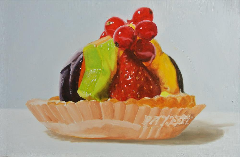 """Fruit Pastry 2"" original fine art by James Coates"