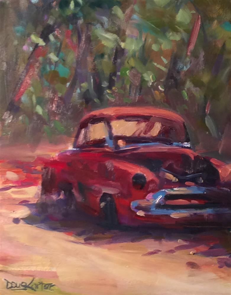 """STILL RESTING"" original fine art by Doug Carter"