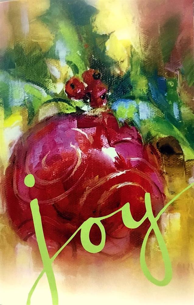 """""""Tis The Season..."""" original fine art by Julie Ford Oliver"""