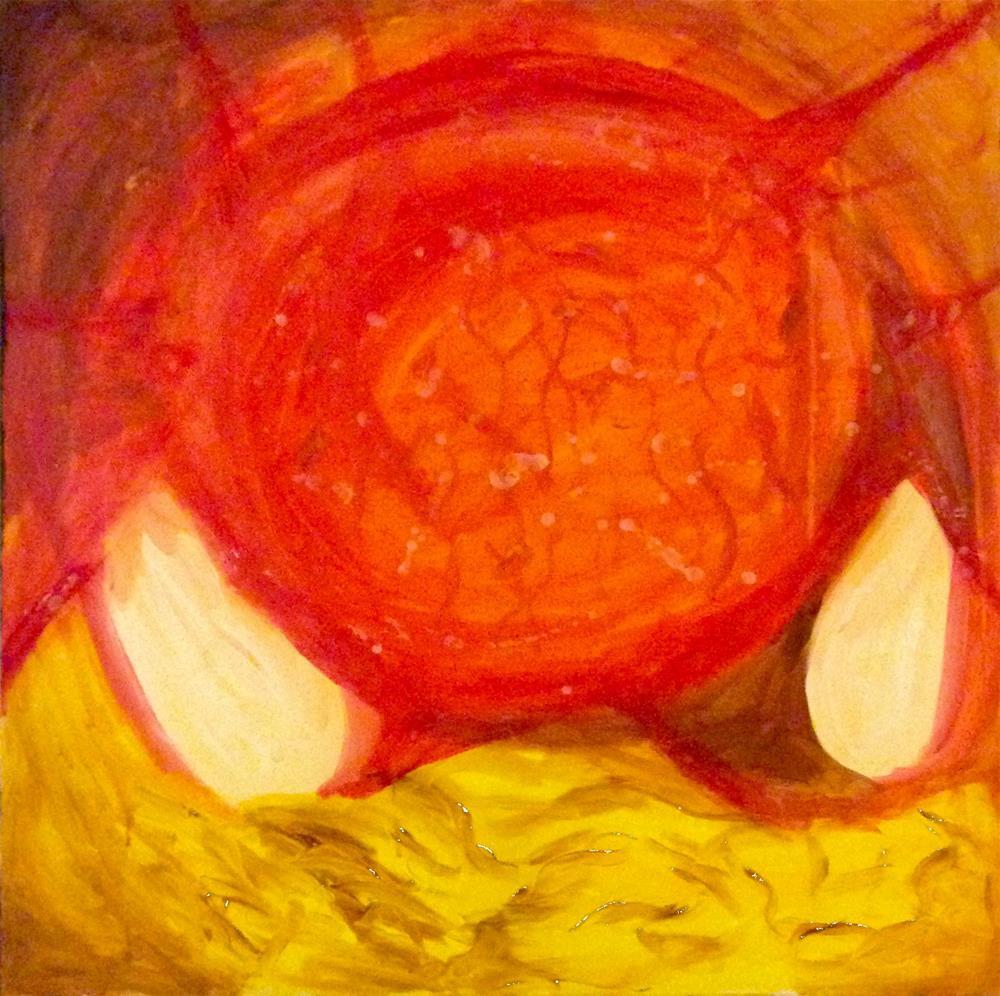 """Endometriosis I"" original fine art by Madeleine Hoffmeister"