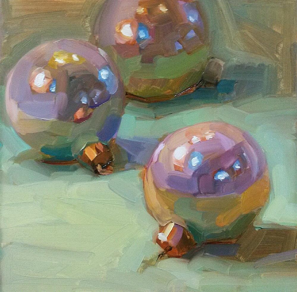 """""""Ornaments"""" original fine art by Holly Storlie"""