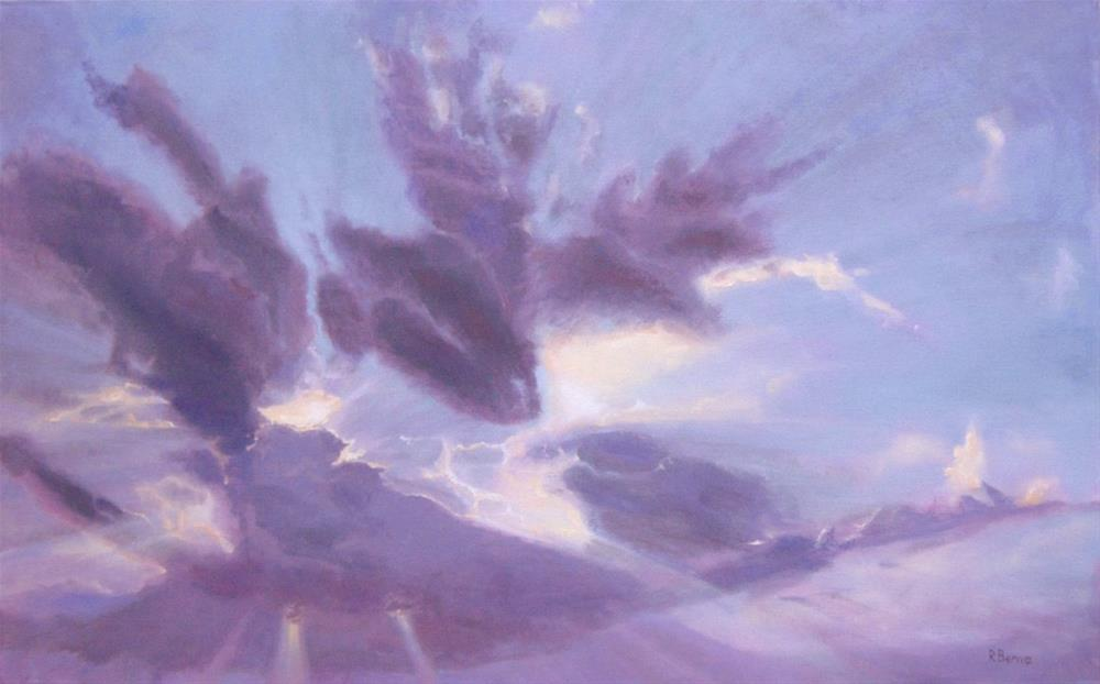 """Enlightened"" original fine art by Robie Benve"