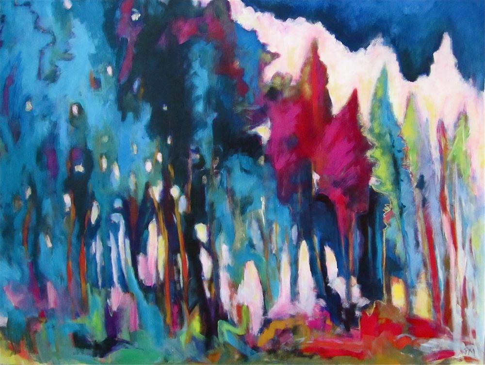 """The Colours of Light"" original fine art by Patricia MacDonald"