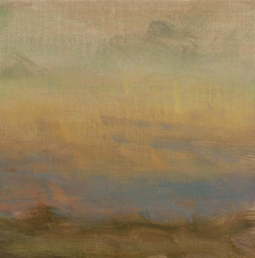 """""""Fall Sunrise 11"""" original fine art by Scott Serafica"""