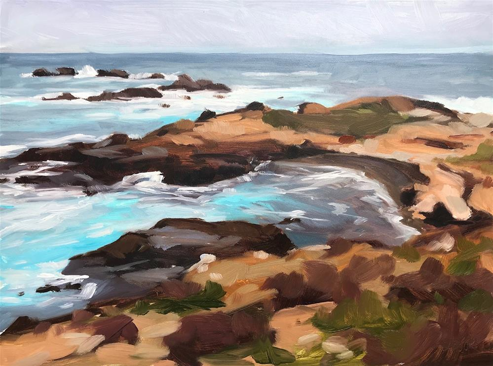 """Point Lobos"" original fine art by Sharon Schock"