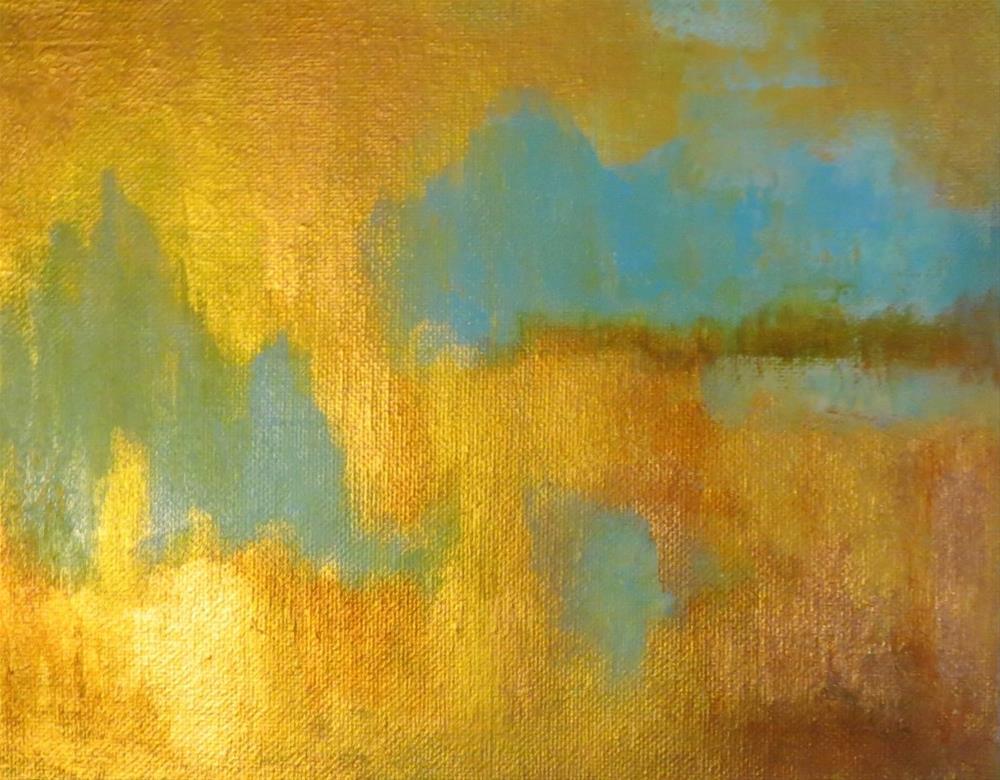 """""""Golden light"""" original fine art by Astrid Buchhammer"""
