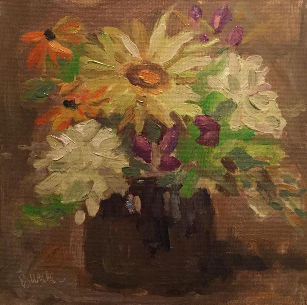 """Summer Gathered"" original fine art by Barb Walker"