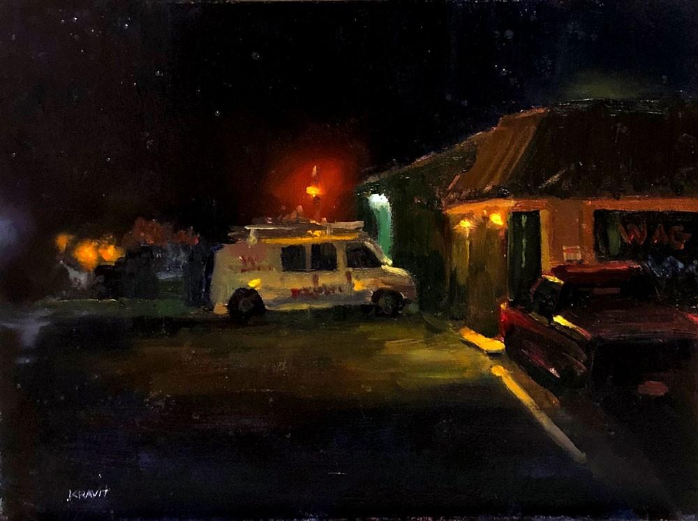 """Jupiter, Florida"" original fine art by Garry Kravit"