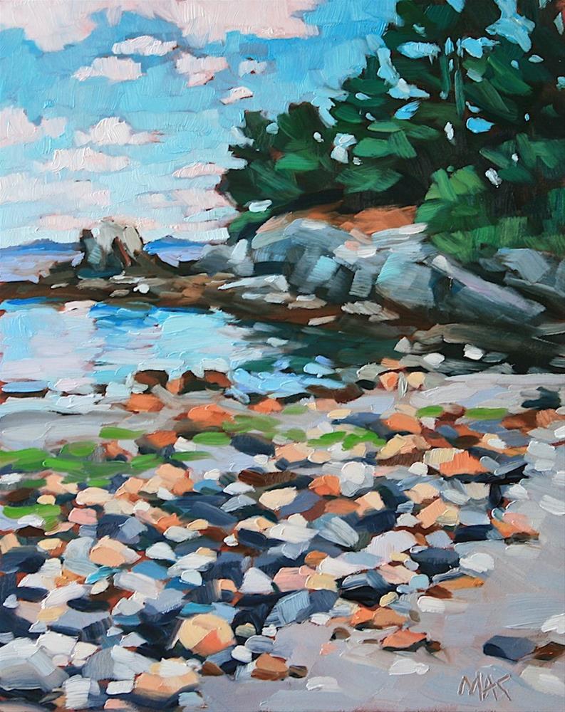"""Zeb Cove"" original fine art by Mary Anne Cary"