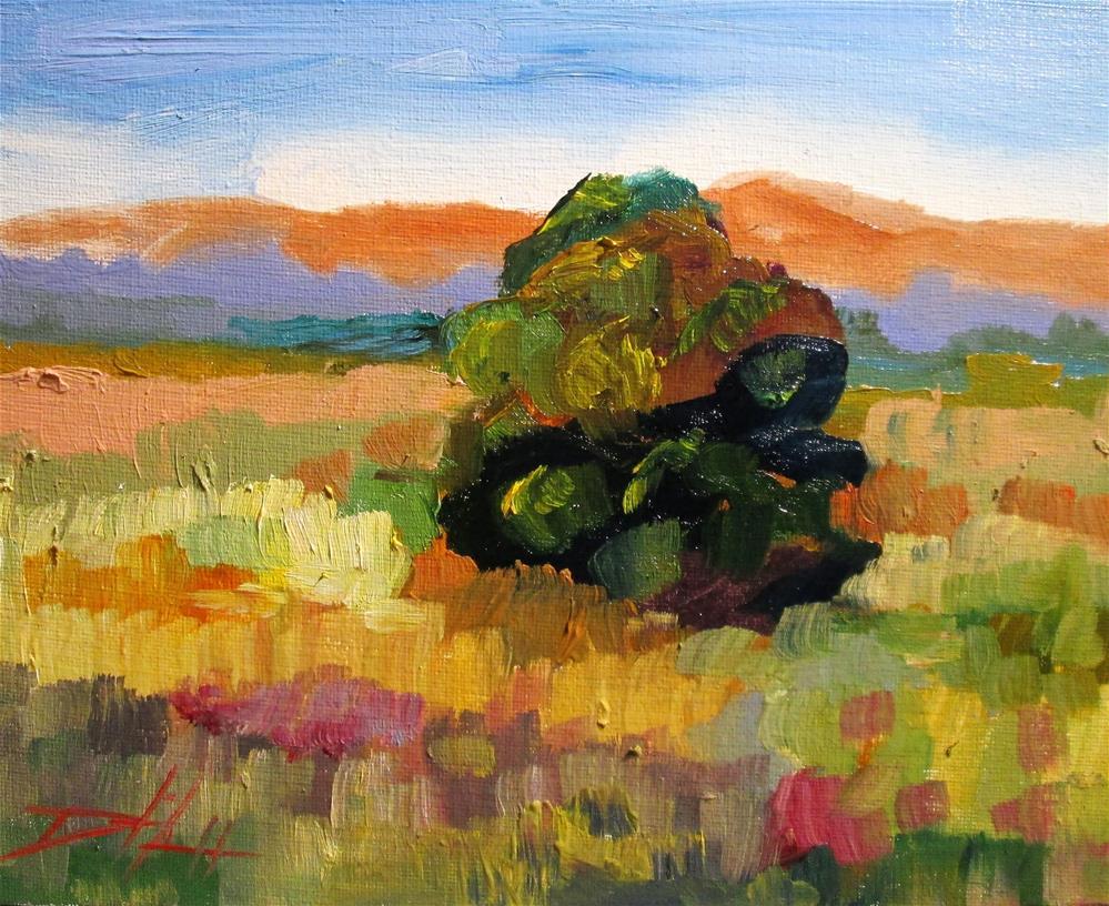 """""""Plein Air Landscape"""" original fine art by Delilah Smith"""