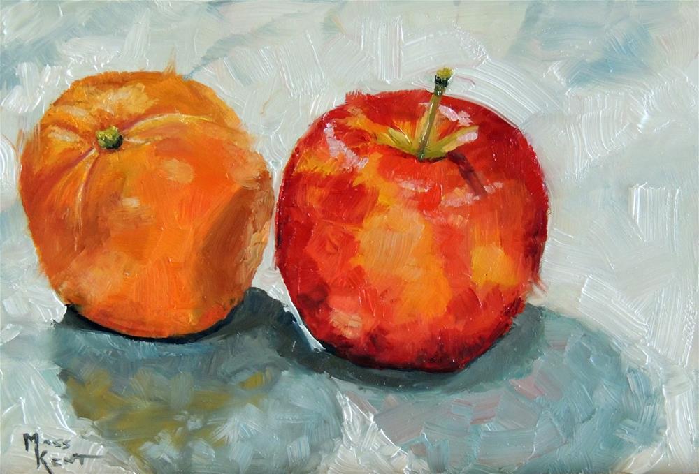 """""""The Pair"""" original fine art by Moss Kent"""