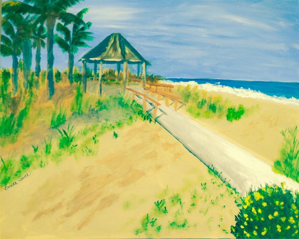 """Amelia Island"" original fine art by Brenda Smith"