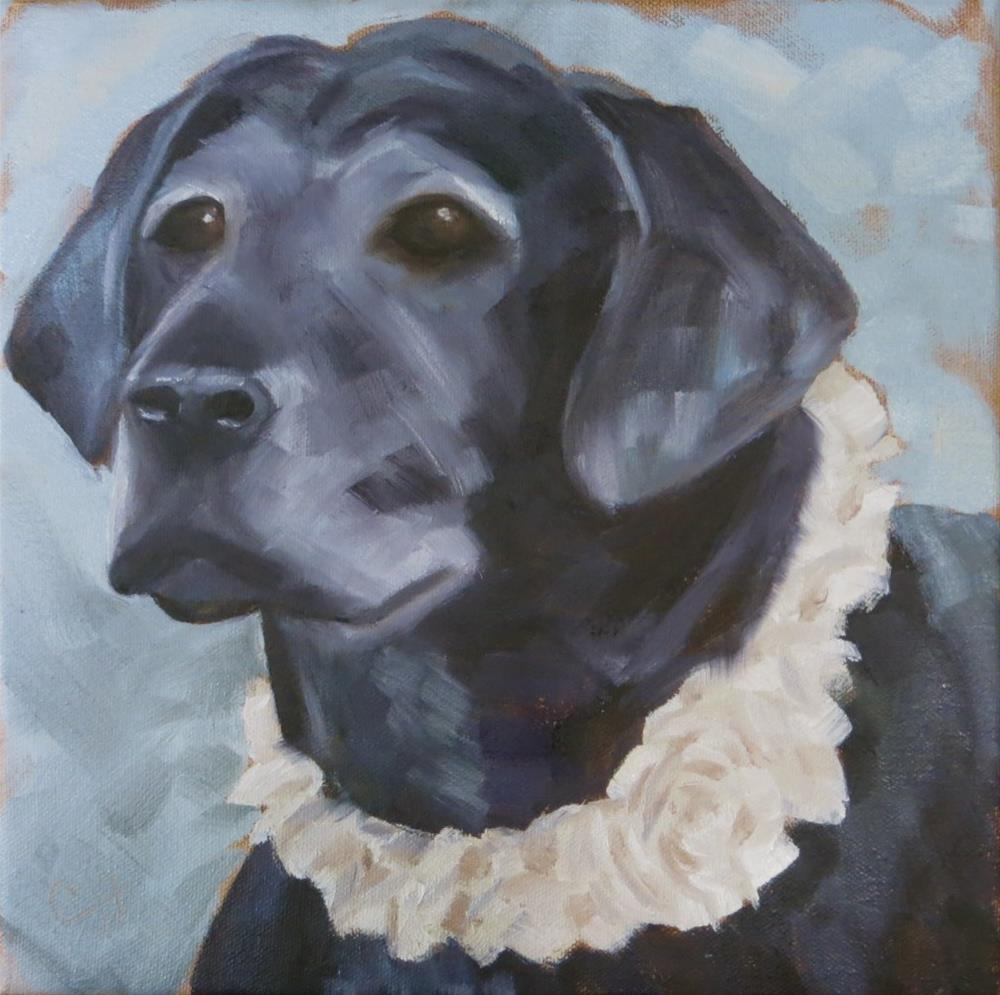 """""""Bella"""" original fine art by Claire Henning"""