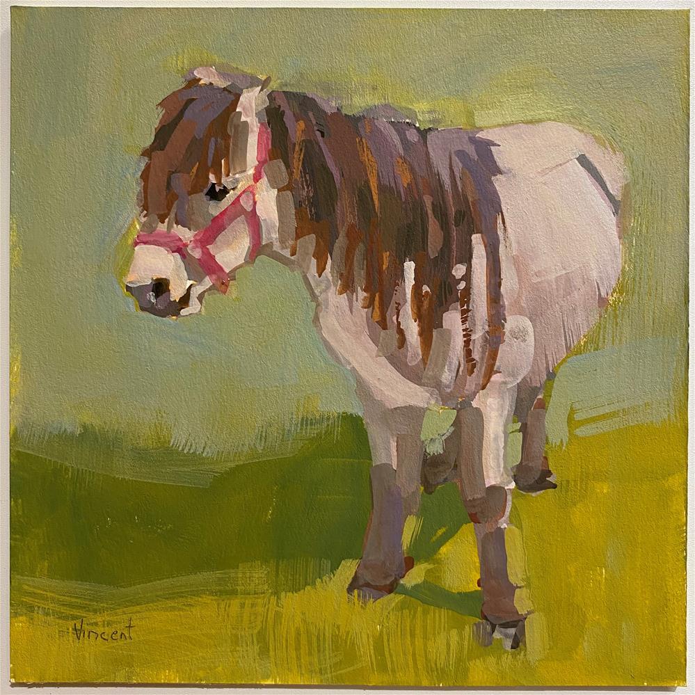 """""""4H Pony"""" original fine art by Patti Vincent"""