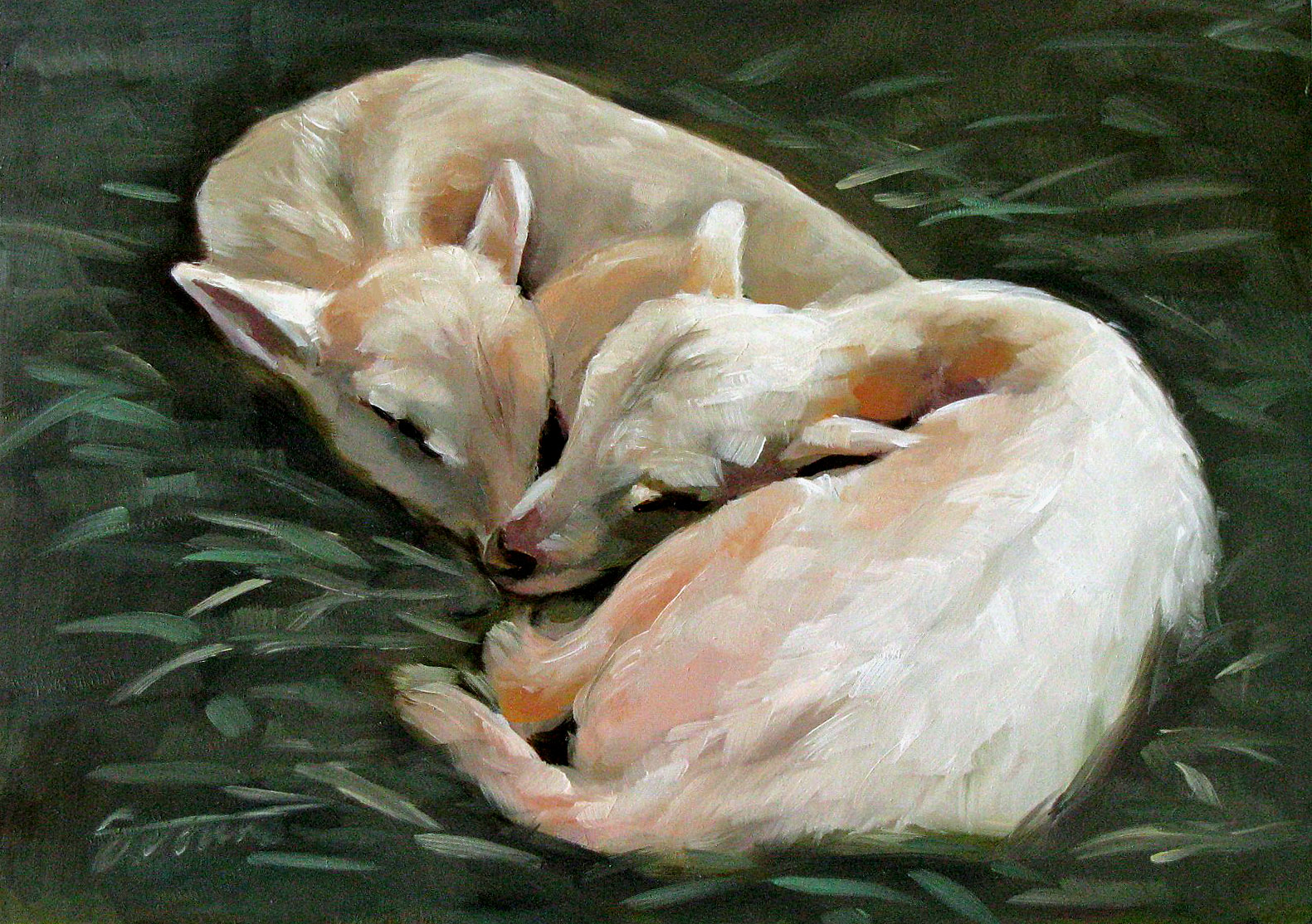 """Sweet Dream"" original fine art by Joanna Bingham"