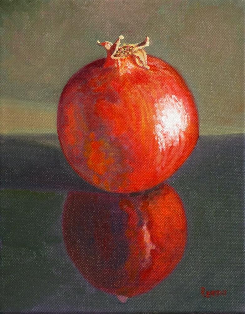 """Pom series: Sei"" original fine art by Peter Lentini"