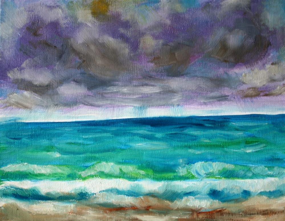 """Another look"" original fine art by Maggie Flatley"