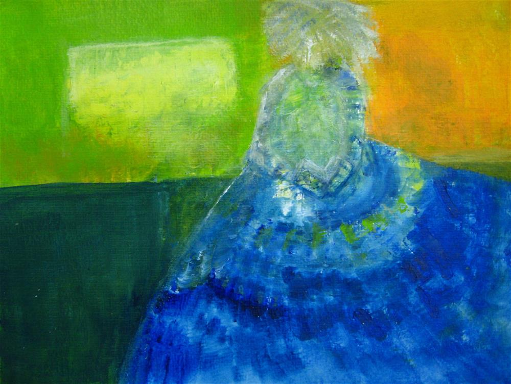 """In Her Imagination"" original fine art by Alina Frent"
