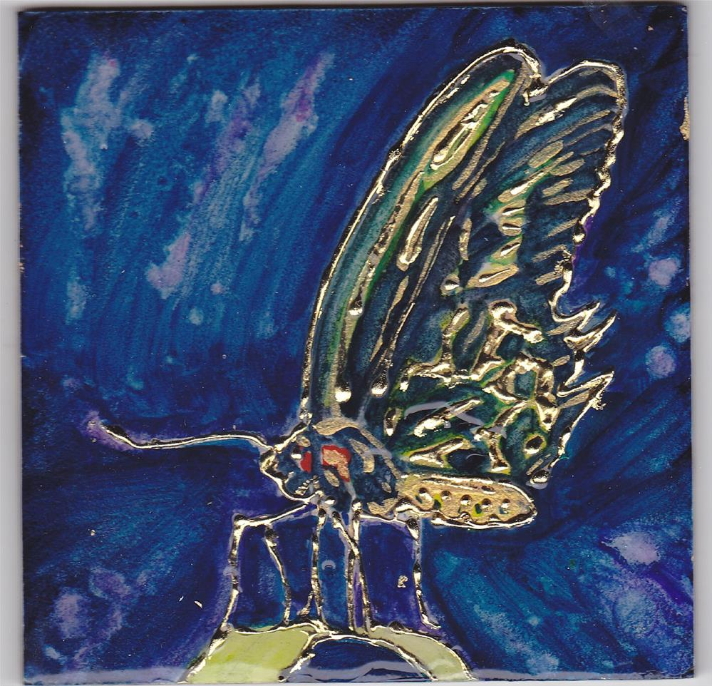 """Nature's Jewel Miniature"" original fine art by Christiane Kingsley"