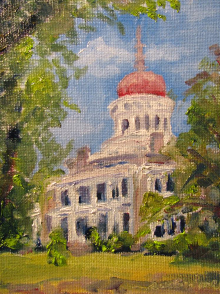 """Longwood, Natchez, Mississippi"" original fine art by Susan Elizabeth Jones"