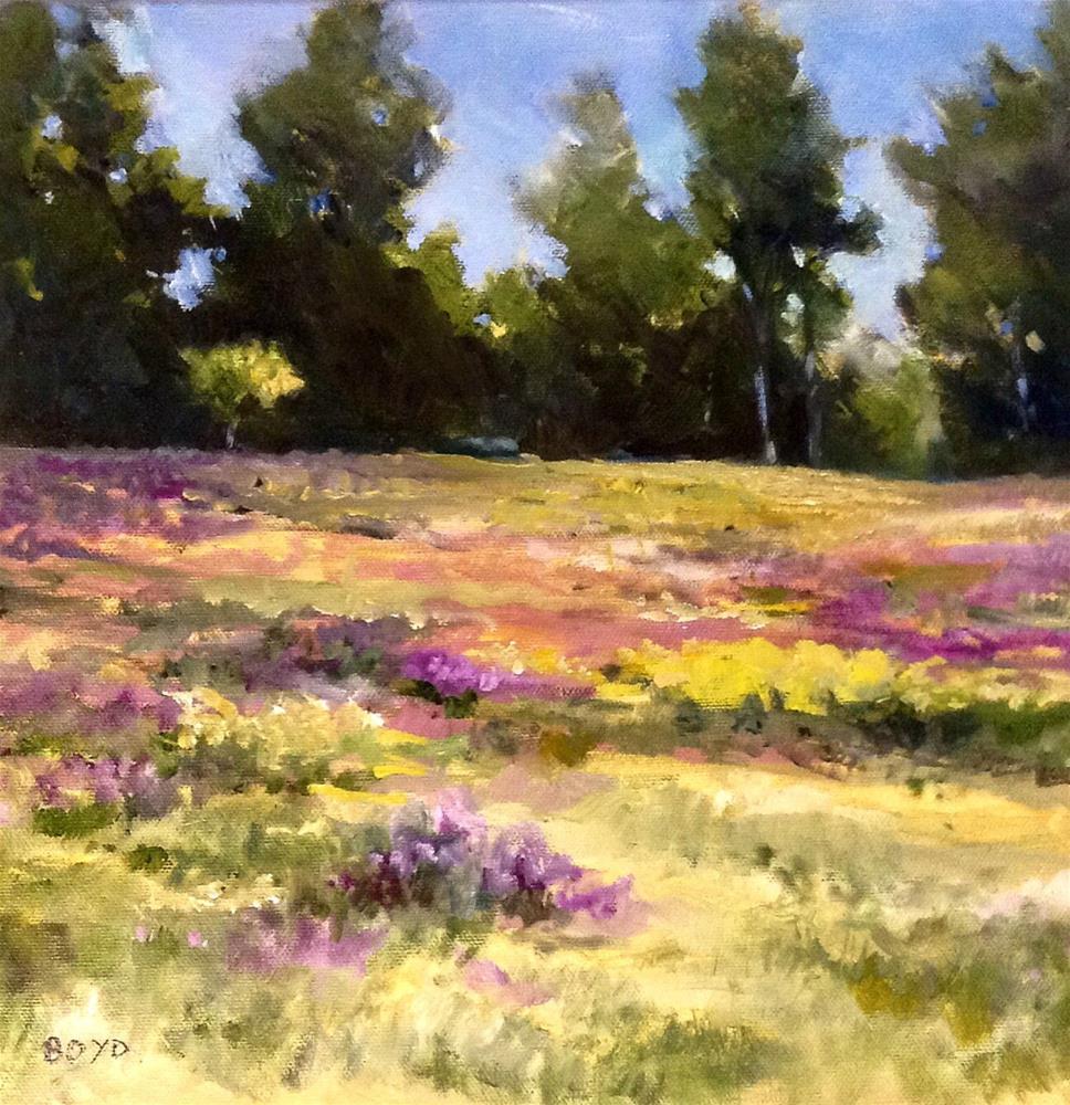 """""""Fresh Flowers"""" original fine art by Cathy Boyd"""