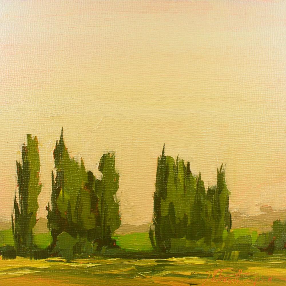 """""""Pastoral Reverie V"""" original fine art by Melanie Thompson"""