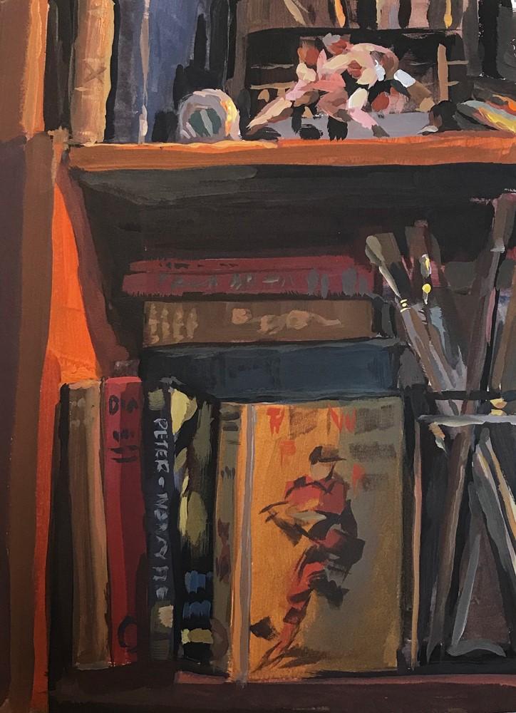 """""""Boys Shelf"""" original fine art by Chris Greco"""