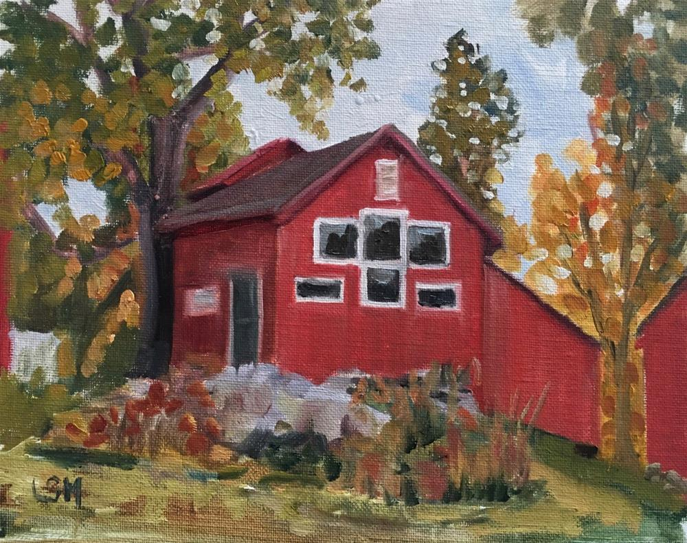 """Weir Farm, Redding CT"" original fine art by Linda Marino"