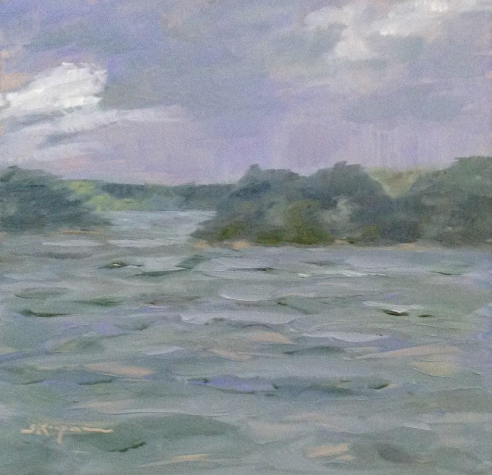 """""""Storm Moving  In"""" original fine art by Shelley Koopmann"""