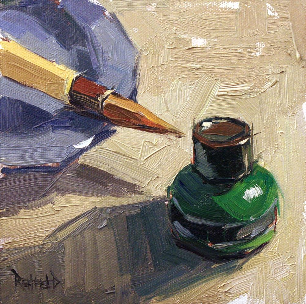 """Sumi Ink"" original fine art by Cathleen Rehfeld"