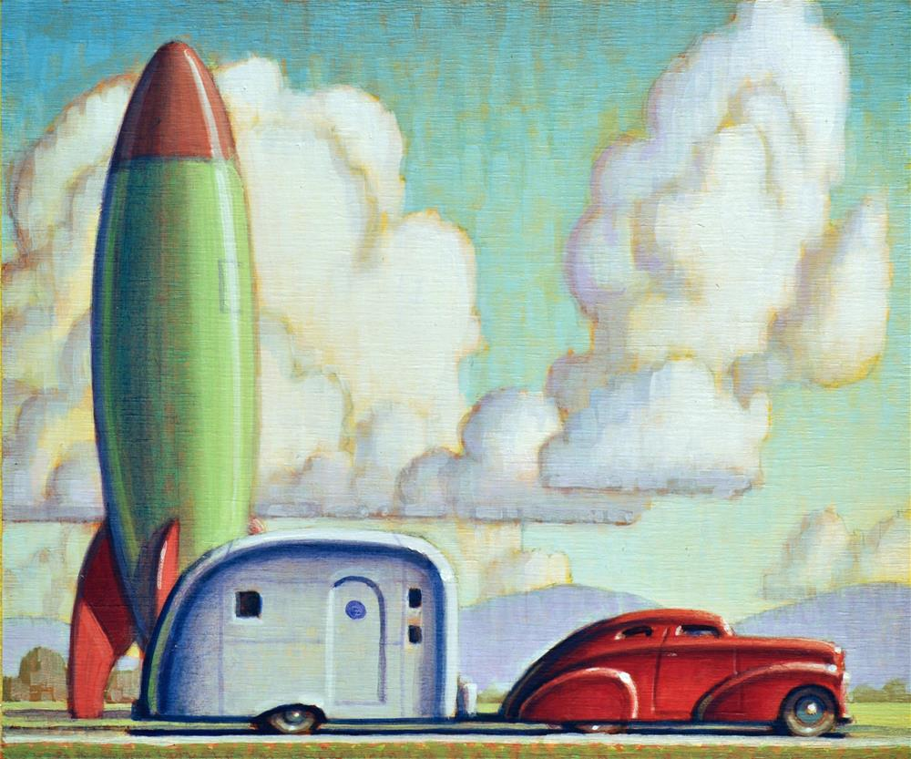"""Far From Home"" original fine art by Robert LaDuke"