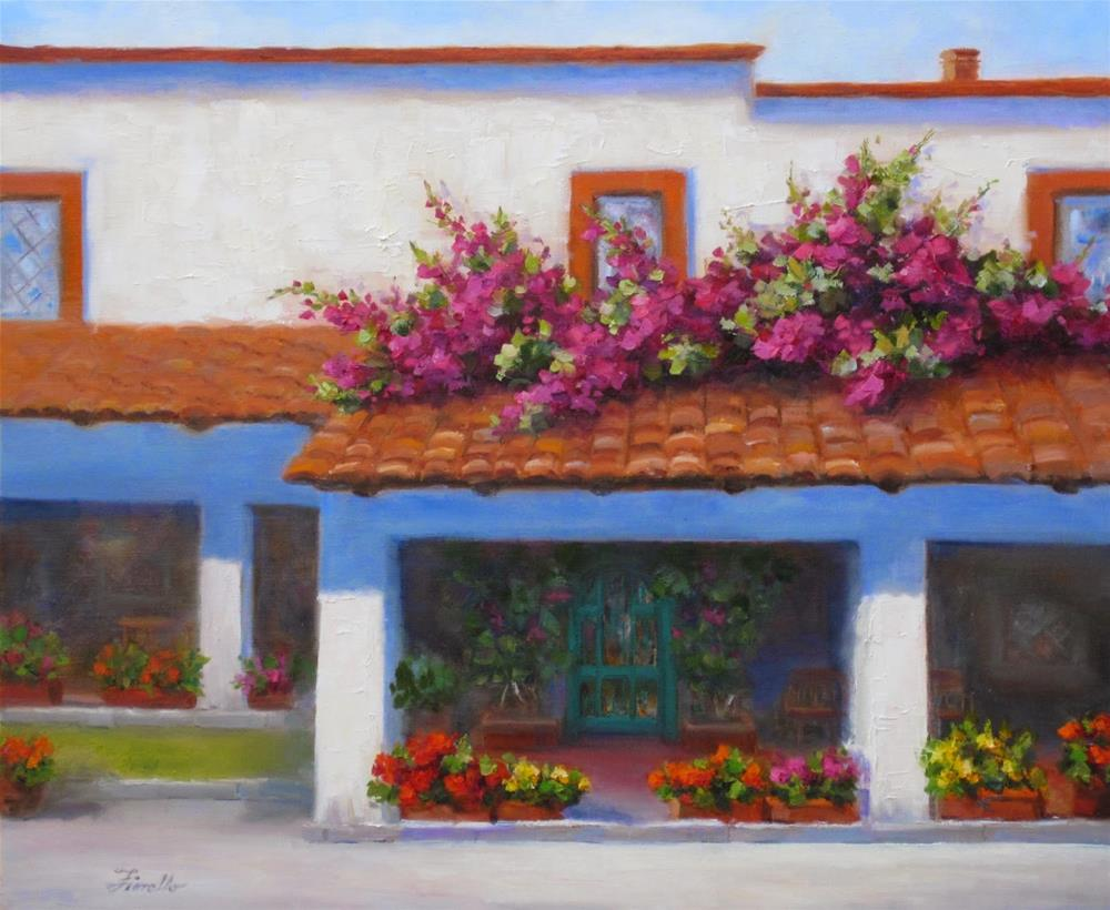 """""""Did you know you can have exactly what you want?"""" original fine art by Pat Fiorello"""