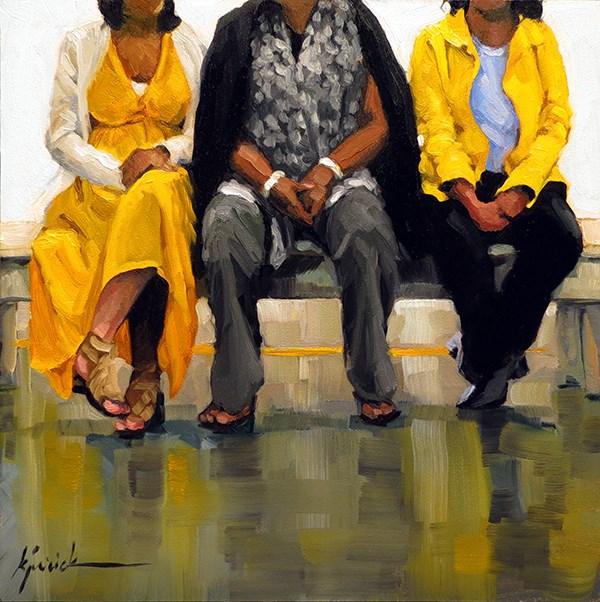 """The Matriarch"" original fine art by Karin Jurick"