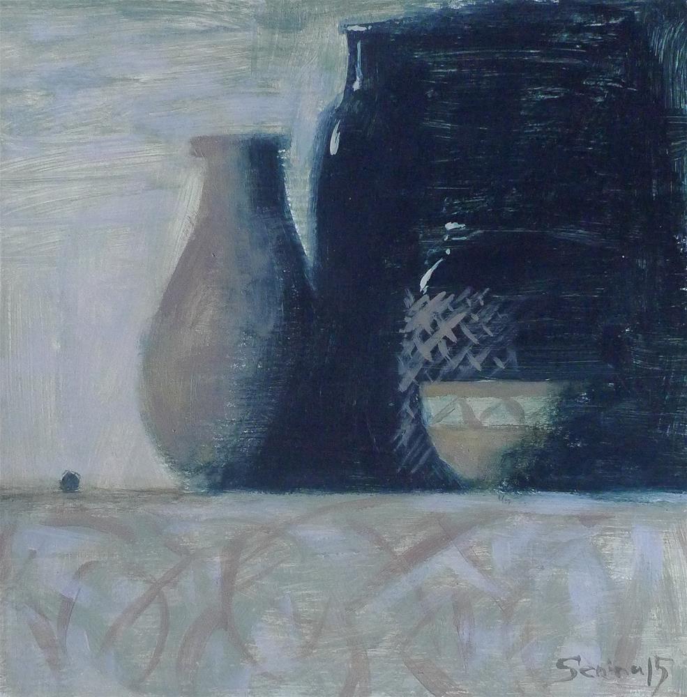 """""""Night Still Life"""" original fine art by Elena Senina"""