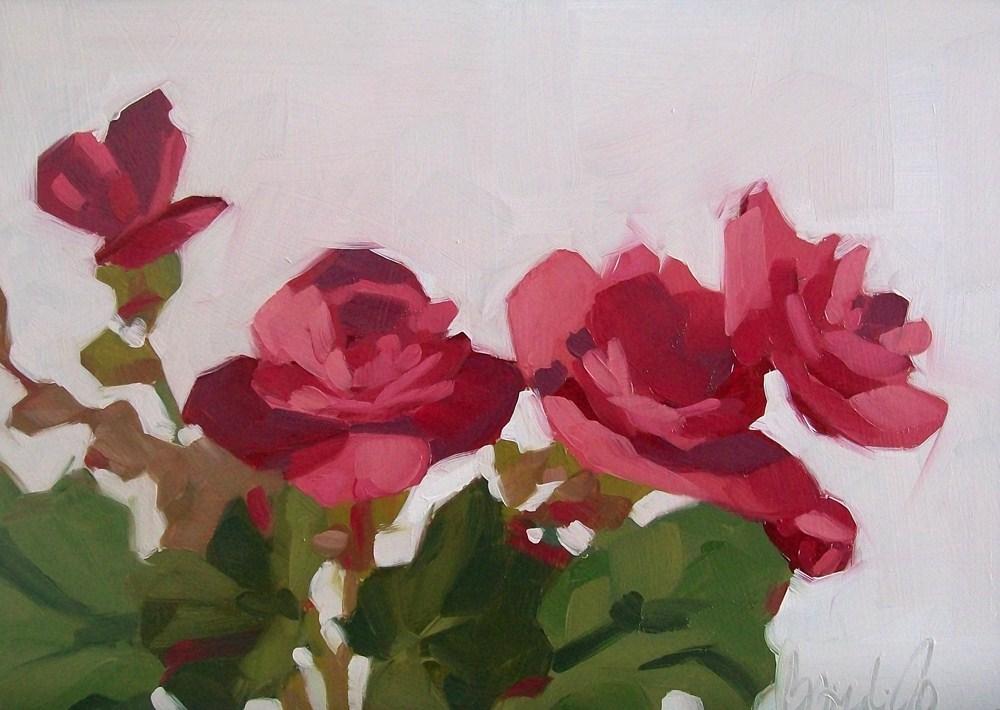 """From the yard"" original fine art by Brandi Bowman"