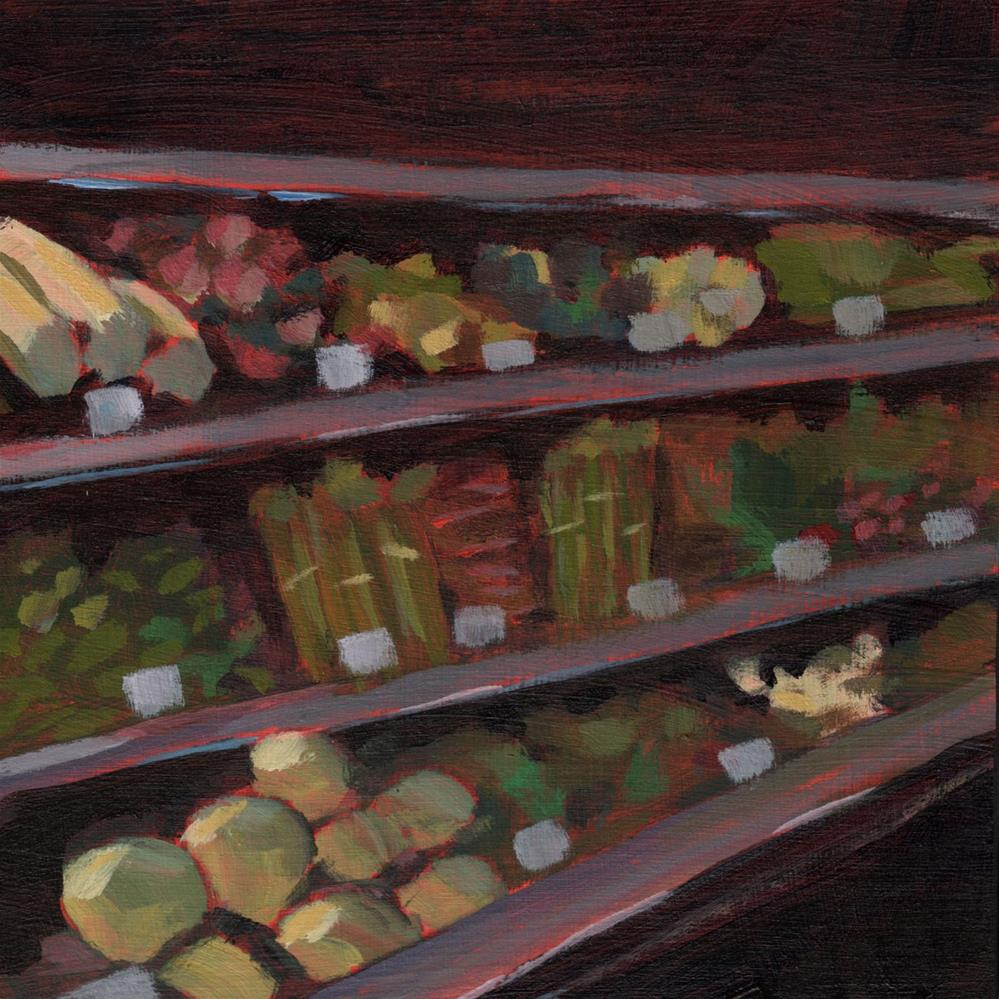 """0419: Going to the Grocery Store"" original fine art by Brian Miller"