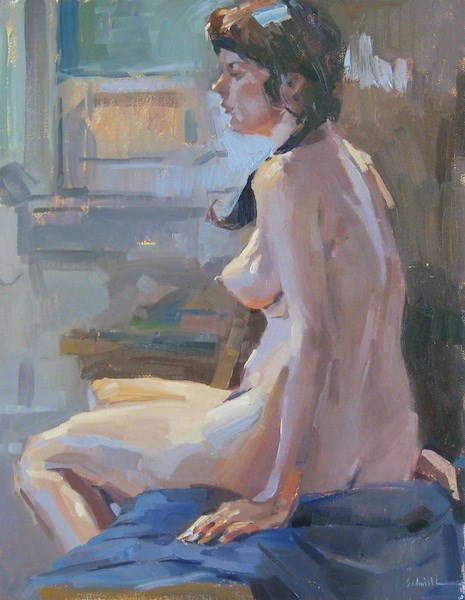 """Madame M."" original fine art by Sarah Sedwick"