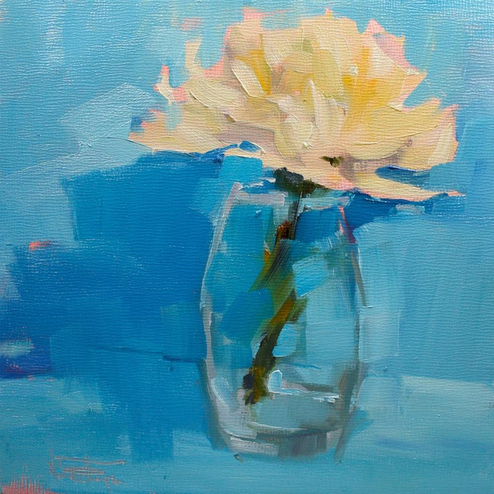 """Flower 1"" original fine art by Melanie Thompson"