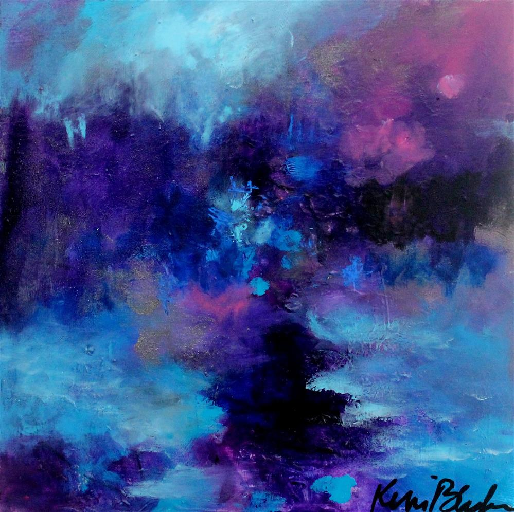 """Wandering at Twilight"" original fine art by Kerri Blackman"