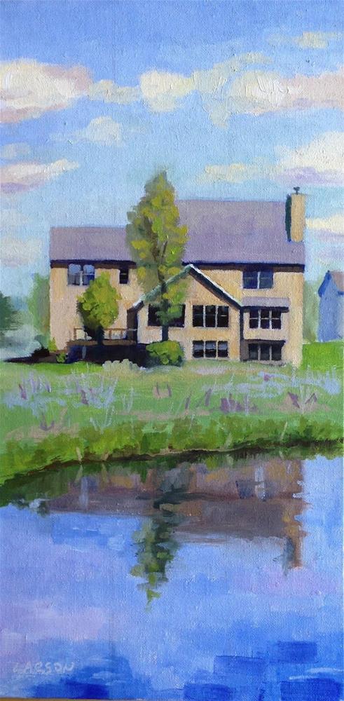 """Home"" original fine art by Eric Larson"