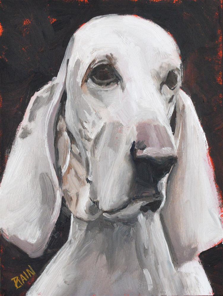 """""""Ambassador"""" original fine art by Peter Bain"""